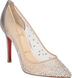 88eca3986df7 Christian Louboutin Body Strass Pumps Petite Fashion