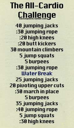 Cardio home workout. This will come in handy workout workouts summer fitness exercise home workout