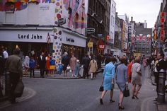 childhood_118 by Jenny Ann Duval, via Flickr Vintage London, Old London, Lord John, Swinging London, Carnaby Street, London Clubs, Walking By, Street Style, Childhood