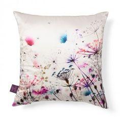 fleurs enchantees white boheme pillow abc ny