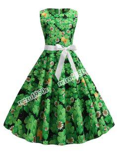 Irish Heritage St Patricks Day Billie ULTRA MINI Skirt Waist Sizes 26-38