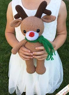Amigurumi Reindeer - A Free Crochet Pattern   Grace and Yarn