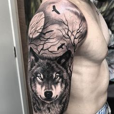Likes, 31 Comments - Camilo Tuero Mart nez Tattoo (camilotuero. - Likes, 31 Comments – Camilo Tuero Mart nez Tattoo (camilotuero. Wolf Sleeve, Wolf Tattoo Sleeve, Lion Tattoo, S Tattoo, Back Tattoo, Body Art Tattoos, Sleeve Tattoos, Wolf Tattoo Design, Tattoo Designs