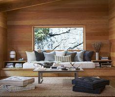 Un superbe salon. Beau mais non minimaliste. Suzanne Dimma, I love your work !