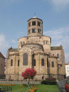 Abbatiale Saint-Austremoine d'Issoire Francia.