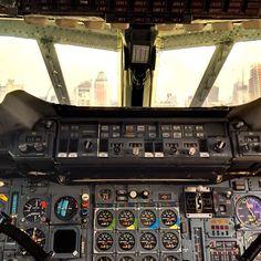 Concord Alpha Delta's cockpit - @jeffreynyc