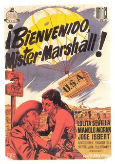 Cartel Español de Bienvenido Mister Marshall