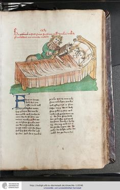 Medieval, Vintage World Maps, German, Illustrations, Bed, People, Kleding, Kunst, Deutsch