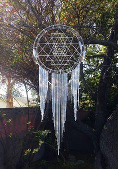 Giant Sacred Geometry Dream Catcher