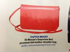 Bright red leather bag Red Leather, Leather Bag, Travel Bags, Leather Shoulder Bag, Empty, Bright, Travel Handbags, Travel Tote, Leather Shoulder Bags