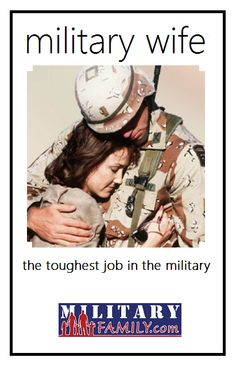 Hardest job yes, but proud everyday! We keep our heads up and are thankful for everyday our military spouse is home!