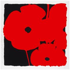 Red Poppy   From a unique collection of abstract prints at https://www.1stdibs.com/art/prints-works-on-paper/abstract-prints-works-on-paper/