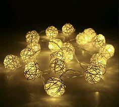 Weihnachtsbeleuchtung 20 Rattan Ball Lichterkette String Lights Batteriebetrieben für Hochzeit, Geburtstag Party, Weihnachtsdeko, 2,2 m, Warm Weiß zhangming® http://www.amazon.de/dp/B016ZQWDN4/ref=cm_sw_r_pi_dp_jM4pwb0S5MXVB
