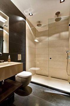 nice mountain cabin bathroom