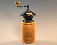 olde tyme coffee grinder in black cherry