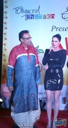 Veena Malik in Sensuous Black with Arindam Sil in Kolkata: http://www.washingtonbanglaradio.com/content/44708313-pakistani-bollywood-hottie-veena-malik-reveals-zindagi-50-50-movie-tollywood-kolkat  Malik revealed story of her upcoming Bollywood project 'Zindagi 50-50', She is playing the role of a prostitute. Malik has extensively researched her role, even meeting real-life sex workers.