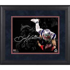 "Julian Edelman New England Patriots Fanatics Authentic Framed 11"" x 14"" Super Bowl LI Champions Spotlight Photograph - Facsimile Signature - $89.99"