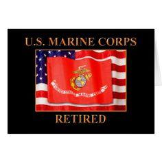 U.S. Marine Corps Greeting Card