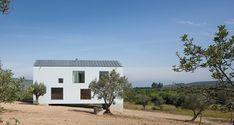 조용한 시골마을, 하얀 집 한 채가 서있다. 초록의 올리브 나무 사이에서 그 존재감을 각인시키며 하염없이 바라보게 하는 그런 집. 주택은 포르투갈의 중부에 위치한 폰테 보아(Fonte Boa)의 시골 땅에 지어졌다. 포도밭과 올리브 과수원이 있는 작은 대지로, 아름다운 산과 계곡이 주위를 둘러싸고 있다.