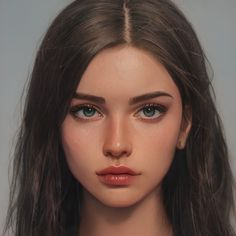 Digital Art Girl, Digital Portrait, Portrait Art, Character Aesthetic, Aesthetic Girl, Girl Cartoon, Cartoon Art, Character Portraits, Character Art