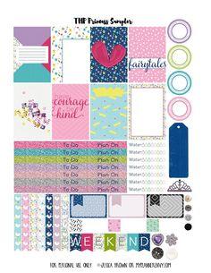 My Planner Envy: Princess Sampler - Free Planner Printable