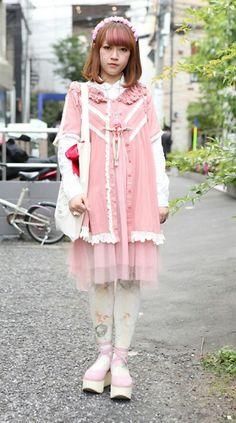 Japanese Street Fashion, Tokyo Fashion, Harajuku Fashion, Kawaii Fashion, Cute Fashion, Daily Fashion, Everyday Fashion, Harajuku Style, Tokyo Street Style