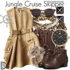 Disney Bound - Jungle Cruise Skipper Theme Park Outfits, Disney Themed Outfits, Disney Bound Outfits, Cruise Outfits, Disney Dresses, Dapper Day Outfits, Disney Dapper Day, Disney Inspired Fashion, Disney Fashion