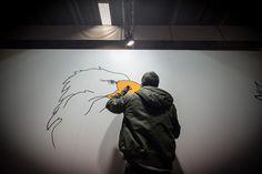 """Opé """"You Tweet We Draw"""" pour Pull-In au Salon des Etudiants / 2013"""