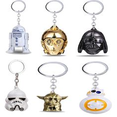 OFFICIAL Star Wars Kylo Ren Mask Shaped Novelty 3D Metal Keychain Keyring NEW