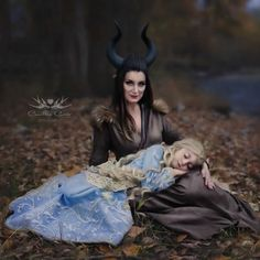 7-Year-Old Daughter And Mom Cosplay As Disney Characters, And Their Photos Are Better Than The Real Thing