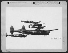 Lockheed P-38 Lightnings by D. Sheley, via Flickr