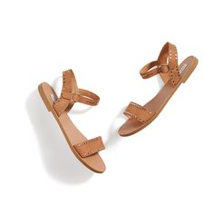 Stitch Fix New Arrivals: Brown Leather Sandals