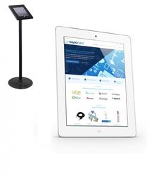 iPad 2 (16GB in white) - comes with lockable floor stand