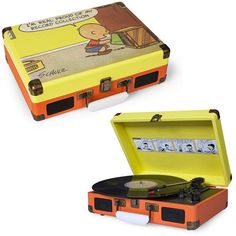 Crosley: Peanuts Cruiser Turntable (CR8005A-PE) (Record Store Day 2014)