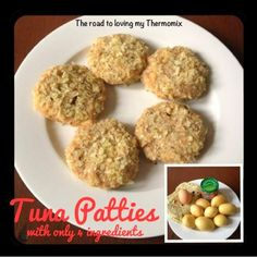 Look out 4 Ingredient ladies! Haha  This is a great recipe to use up those surplus little tins of Tuna in the pantry. Because there is so much flavour in the Tuna Cakes, Childrens Meals, Dinners For Kids, Meals For The Week, Kids Meals, Tuna Patties, Potato Patties, Dinner Menu, Thermomix