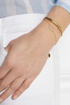 Riva Gold-Plated Diamond Bracelet - Monica Vinader