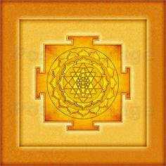 Dirk Czarnota - Golden Sri Yantra - Artwork III