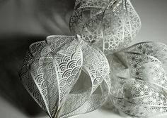 ₪ Paper Art Potpourri ₪ Accumulation Paper Cut Sculptures by Christine Kim | strictlypaper