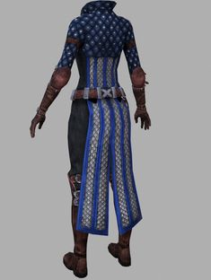 """DRAGON AGE II REF - GREY WARDEN ARMOUR [Mage]"""