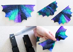 Today I'm going to show you this super cute Coffee Filter Bat Craft that's great for Halloween decorating or even a theme unit about bats. Fall Arts And Crafts, Halloween Arts And Crafts, Halloween Treats For Kids, Fall Crafts For Kids, Halloween Activities, Toddler Crafts, Fun Crafts, Halloween Stuff, Bat Craft