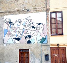 Mugnano, Muri dipinti (Perugia) - murals