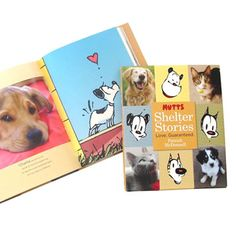 Awesome gift or stocking stuffer for the comic/pet lover in your life! Dog Books, Animal Books, Read Books, Mutts Comics, Humane Society, Comic Strips, Dog Love, Stocking Stuffers, Animal Rescue