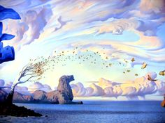 20 Surreal and Creative Oil Paintings by Artist Vladimir Kush