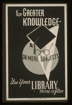 9 Striking Library Posters from the Great Depression - BOOK RIOT