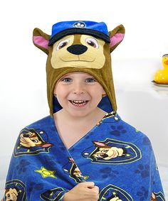 PAW Patrol Chase Hooded Towel | zulily