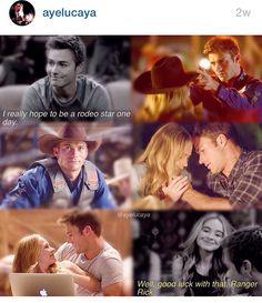 It's the parallels that get me... {Lucas & Maya: GMW   Luke & Sophia: The Longest Ride}