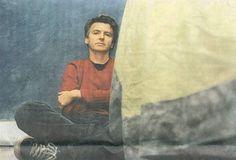 Neil Finn. In my Pinterest board, looking all hot.