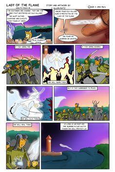 Lady of the Flame   minute comic #1 by EmpathStudio.deviantart.com on @DeviantArt