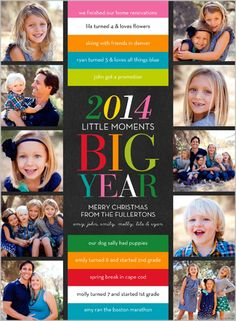 Big Colorful Year 6x8 Stationery Card by Stacy Claire Boyd | Shutterfly