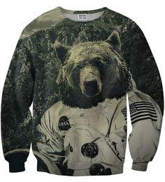NASA bear sweater Thumbnail 1